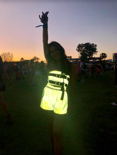 festival trends neon two-piece sets co-ord sets