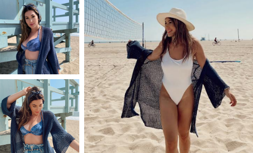How to Look Cute *and* Comfy at the Beach