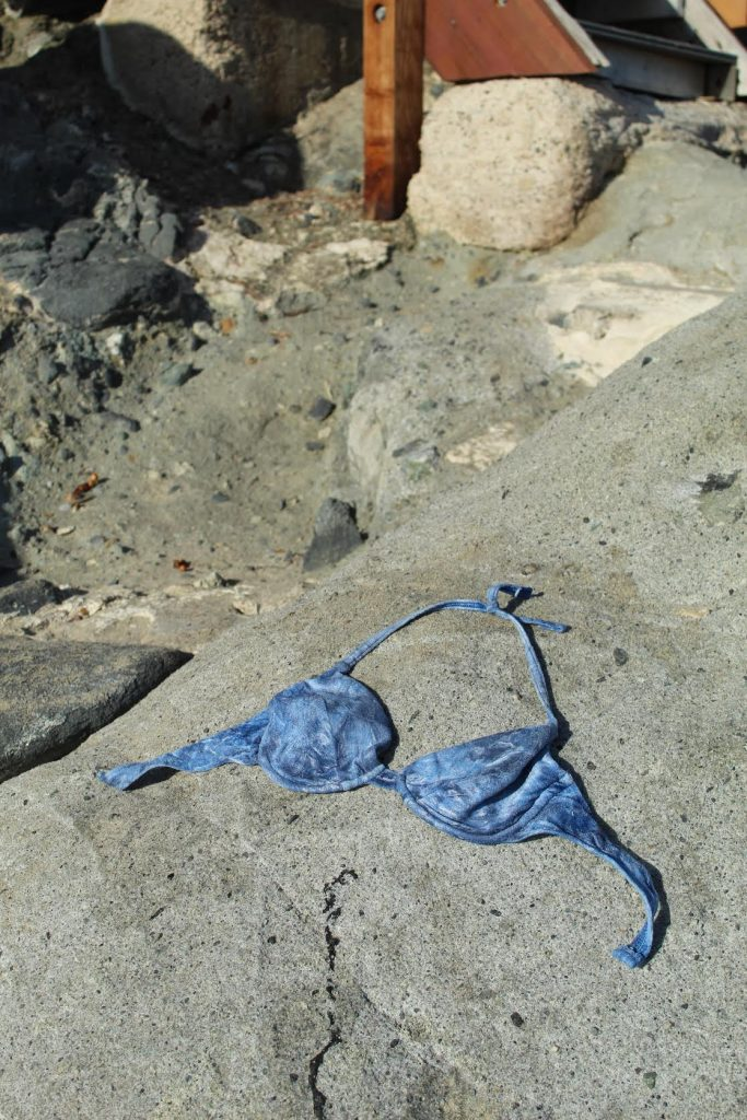 crushed velvet swim top
